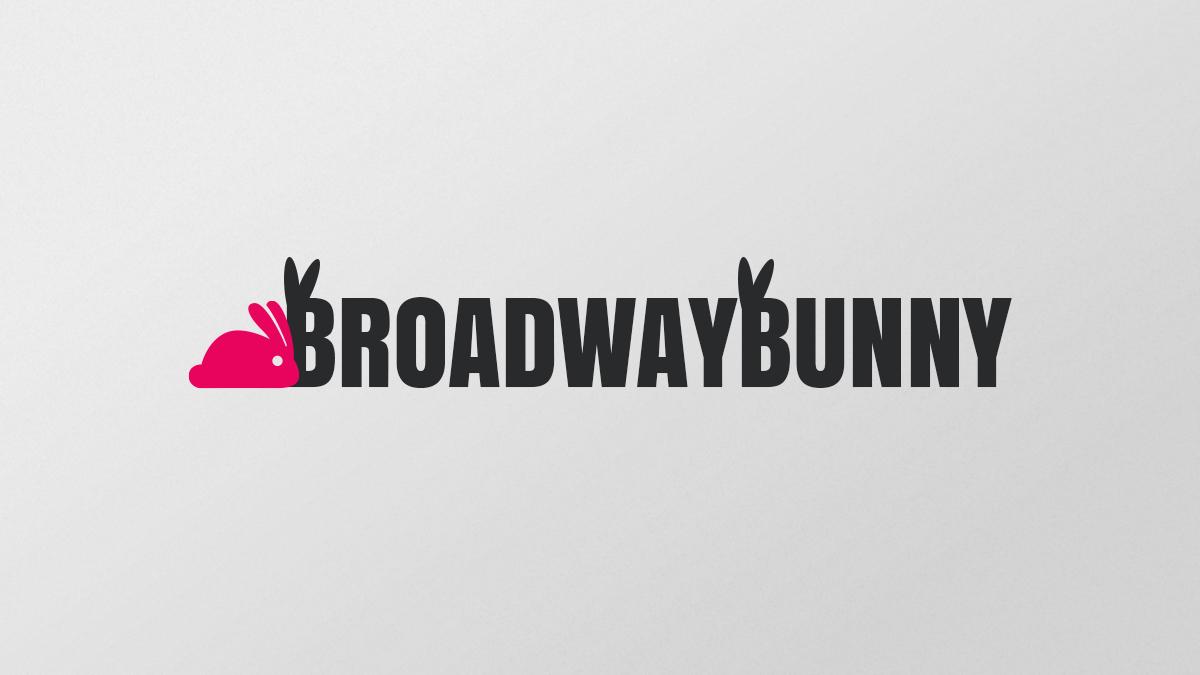 Broadway Bunny - Logo Concept 2
