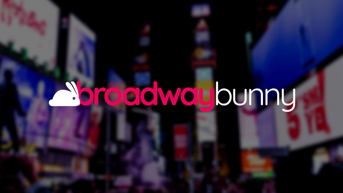Broadway Bunny - Logo Concept 3
