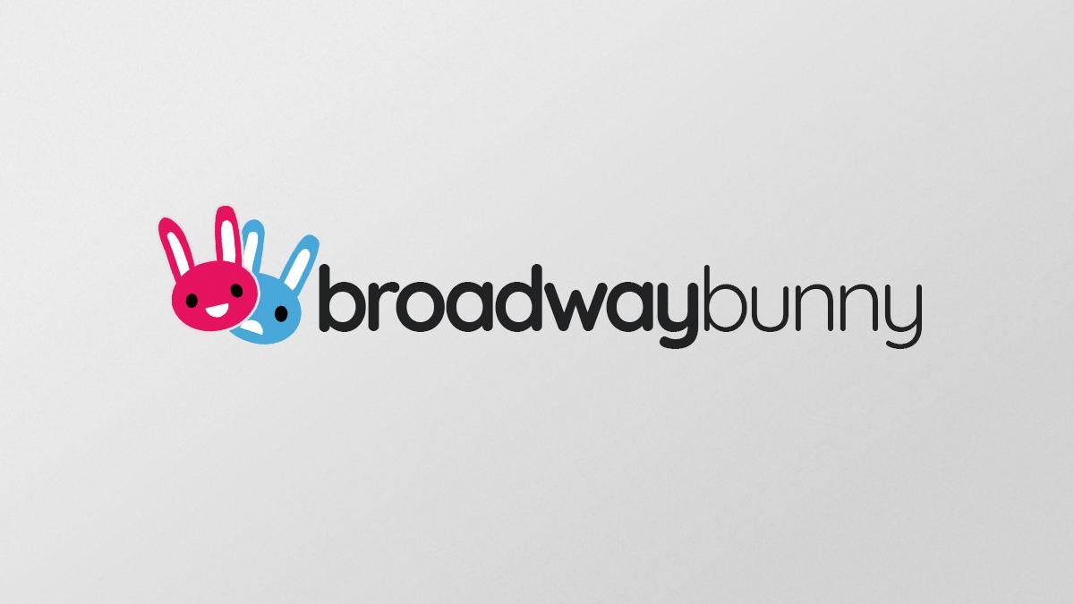 Broadway Bunny - Logo Concept 1